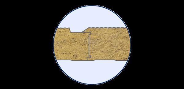 """Стінові вогнестійкі сендвіч-панелі тип """"Мікрохвиля"""" - 5"""