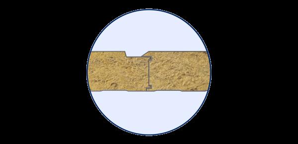 Стінові вогнестійкі сендвіч-панелі Тип PR 2 - 4