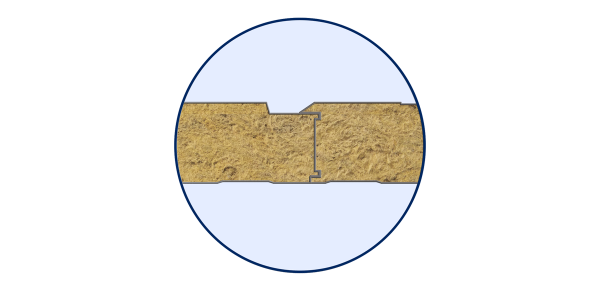 Стінові вогнестійкі сендвіч-панелі Тип PR 3 - 4
