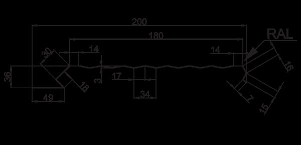 Єврофасад ТИП А / 200 рифлений - 3