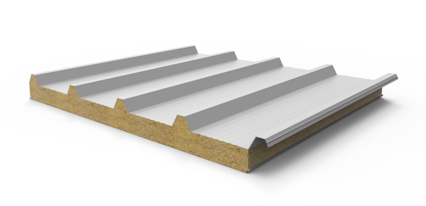 Roofing Insulated Metal Panels Type Wave - 1