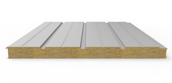 Стінові вогнестійкі сендвіч-панелі Тип PR 3 - 3