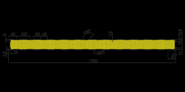 Стінові вогнестійкі сендвіч-панелі Тип S - 5