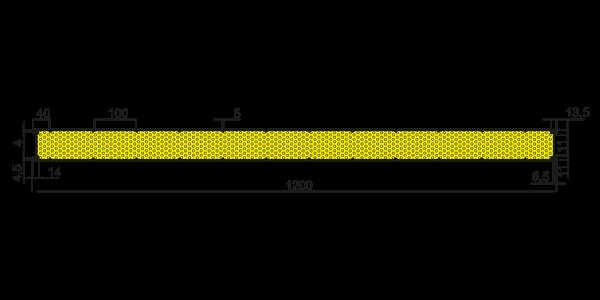 Стінові вогнестійкі сендвіч-панелі Тип V - 5