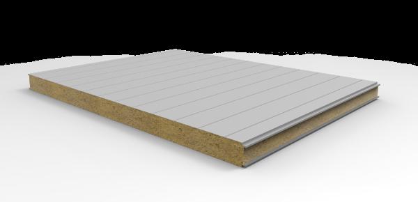 Стеновые огнестойкие сэндвич-панели Тип V - 1