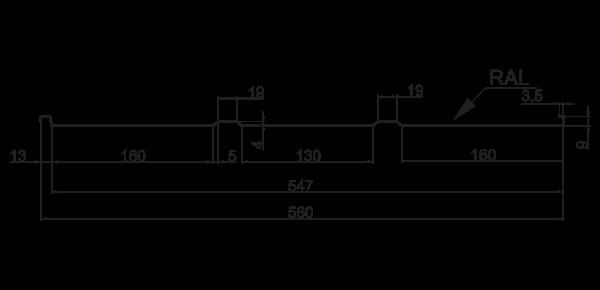 Фальц трапецієподібний - 4