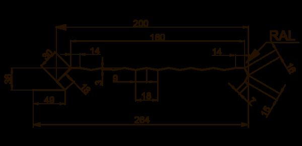 Єврофасад ТИП B/200 рифлений - 3