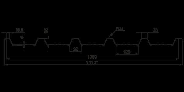 Профнастил покрівельний ПК-35 - 3