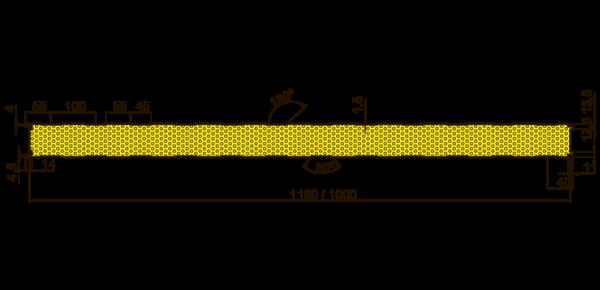Стеновые огнестойкие сэндвич-панели Тип S - 4