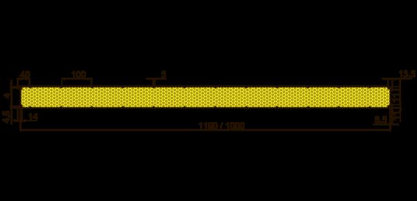 Стеновые огнестойкие сэндвич-панели Тип V - 4