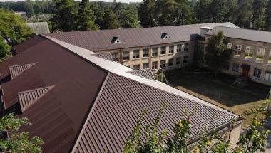 Будівля школи в с. Клавдієво-Тарасове - 1